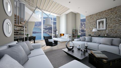 home vv - Masculine - Living room - by Senia N
