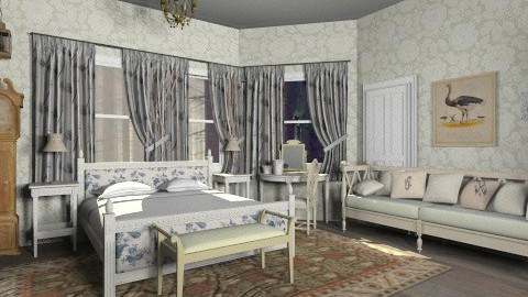 Antique bedroom - Country - by hetregent