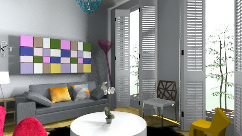 Test - Eclectic - Living room - by ISME RARE