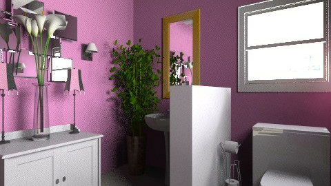 Feminino - Vintage - Bathroom - by belle22