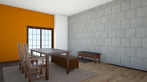 Rustico - Rustic - Dining room - by Rosana Oliva