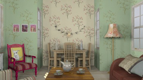 veteran - Vintage - Living room - by trees designs