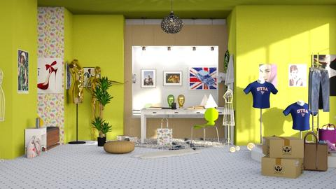 Fashion Designer - Classic - by elephant in savanna