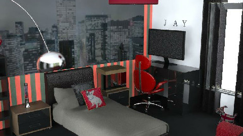 jays grown up room - Kids room - by glamour princess