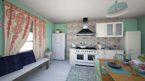 shabbyC - Kitchen - by caponeA