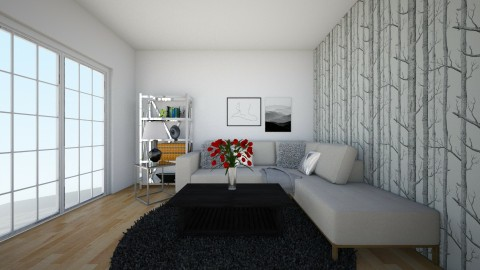 Living room - by Selena29
