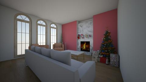 Christmas living room - Classic - Living room - by Jessica098