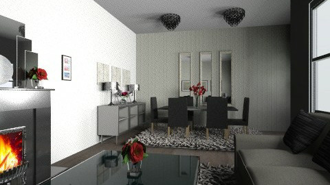 Ivory 6 - Modern - Living room - by Cathd0411