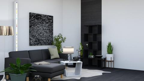 Bla6k - Modern - Living room - by Isaacarchitect