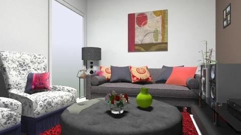 sala casa - Vintage - Living room - by kellassuncao