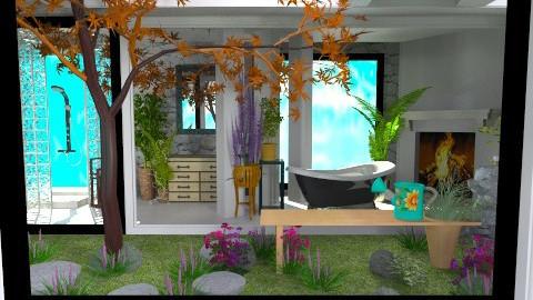 garden - Country - Bathroom - by loretasofia