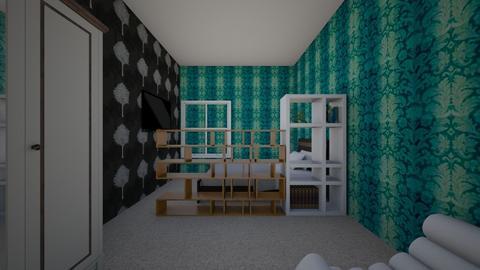 Liveaction - Retro - Living room - by lycoris