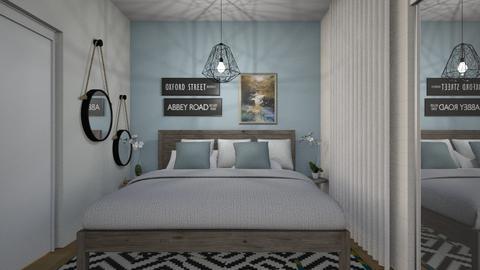 1077 3 - Modern - Bedroom - by Riki Bahar Elbaz