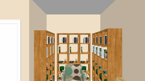 Komnata s bibkiotekoj - Classic - Living room - by sueno_contigo