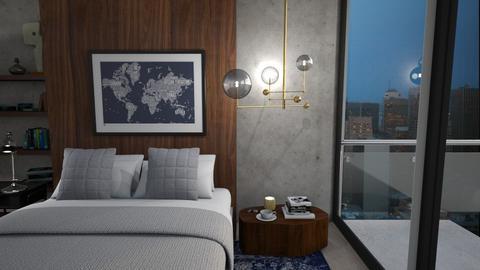 Escape  - Modern - Bedroom - by zabarra