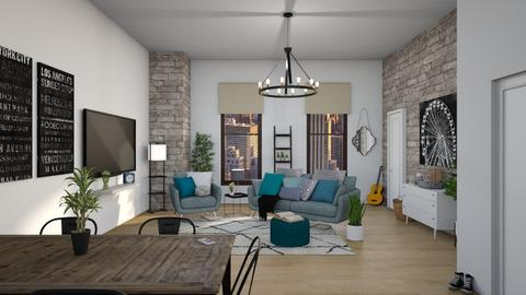 City Living - Living room - by Madalynng55