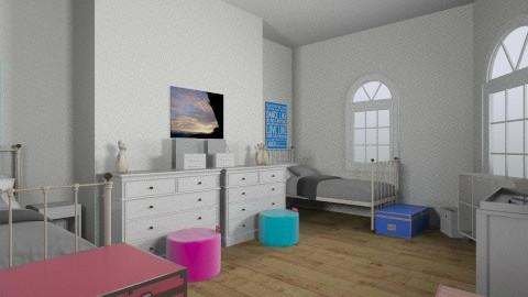 twinning - Modern - Kids room - by kenzie_cloud
