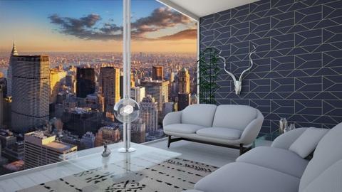 Transparent Room - Living room - by smileslab
