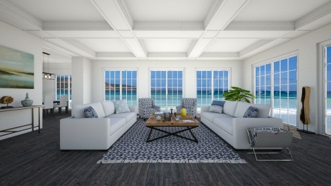 beach house - Living room - by fre82