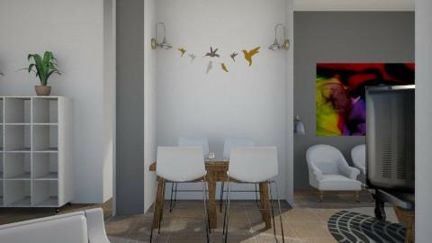 עבודת גמר סלון 5 - Living room - by Asaf Diamant