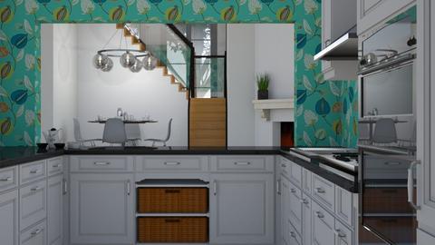 On Looker - Modern - Kitchen - by XiraFizade