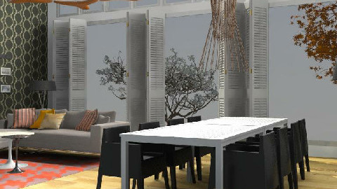 Cathia's Space - Dining - Dining Room - by 3rdfloor