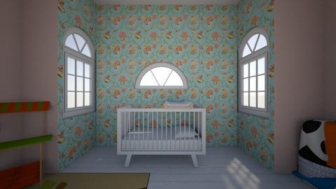 Baby room  - Kids room - by marivictoria0730