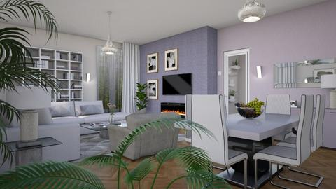 Pastels - Eclectic - Living room - by Theadora