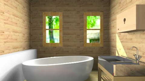 b - Country - Bathroom - by Parker Kulis