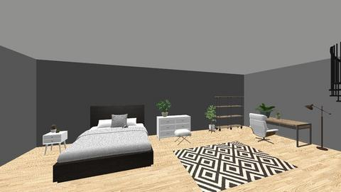 Lounge bedroom - Bedroom - by catmeows