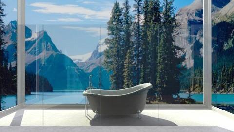Indoor_out bathroom - Country - Bathroom - by Jacquie Ru