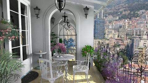 Balcony Suite - Rustic - Garden - by Bibiche
