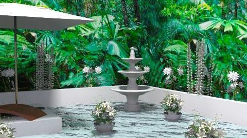 Water Garden - Eclectic - Garden - by channing4
