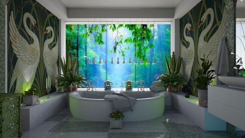 Swans - Bathroom - by marocco