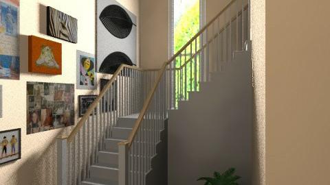 stair hallsssss2 - by bellabravis