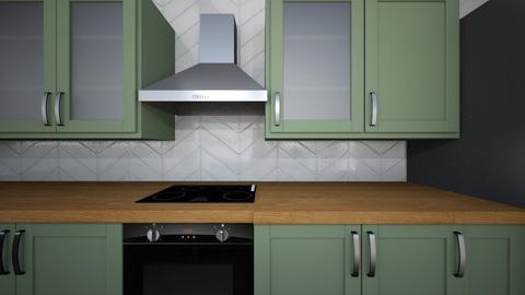 dream house kitchen - Kitchen - by msand0
