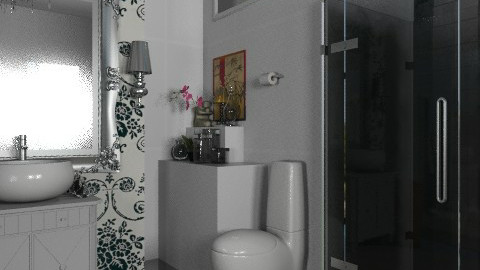 B. banho - Glamour - Bathroom - by sahfs