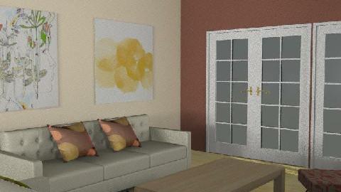 Kata's livingroom - Living room - by Kata Koller