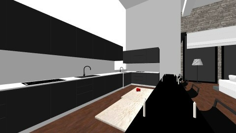 level with bck and wte - Modern - Living room - by shopes