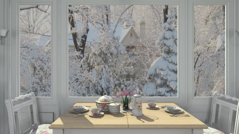 Morning Sun - Classic - Dining room - by Bibiche