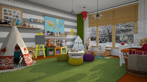 Dream Big Little Angel - Modern - Kids room - by katarina_petakovi