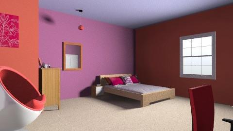 Fun To Live In - Modern - Bedroom - by Dora Girlonta