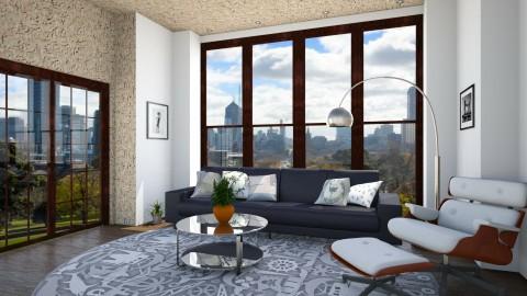 WOOD STAR - Living room - by Monica V Seke