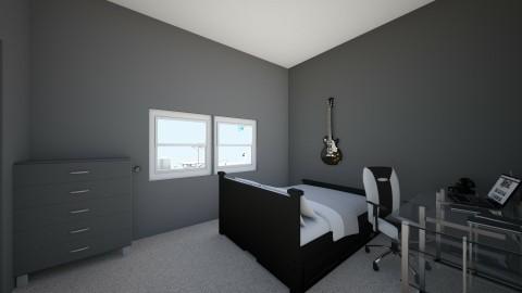teen retreat - Modern - Bedroom - by anorak117
