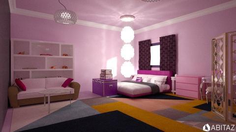 Purple - Bedroom - by DMLights-user-2134665