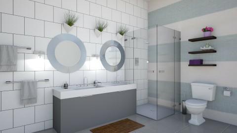 guest bath - Modern - Bathroom - by marble101