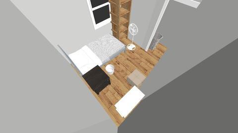 Saras room - Bedroom - by Meg Olivia Andrew