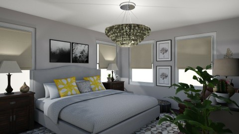 townhouse bedroom2 - Bedroom - by loft313