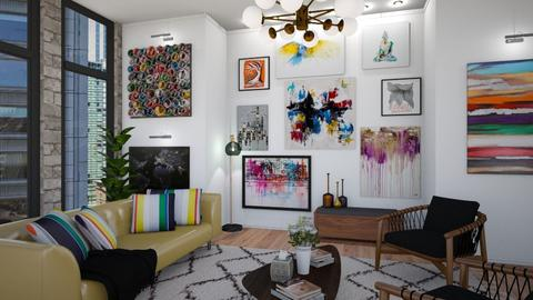 Art Collector  - Living room - by cp_interiors
