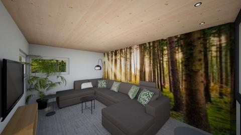 zitkamerdeurwegstef - Living room - by gritje67